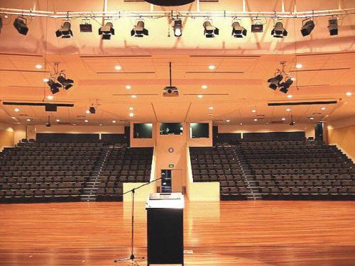 Concert Hall Audio Lighting