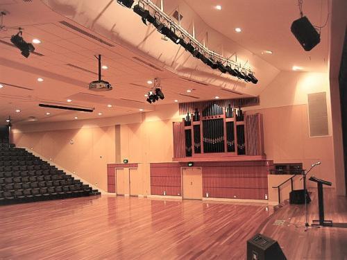 Concert Hall Presentation Audio Lighting