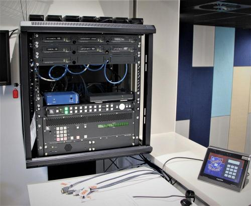 AV Rack & Control Panel