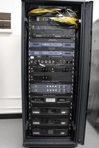 AV Rack on Installation