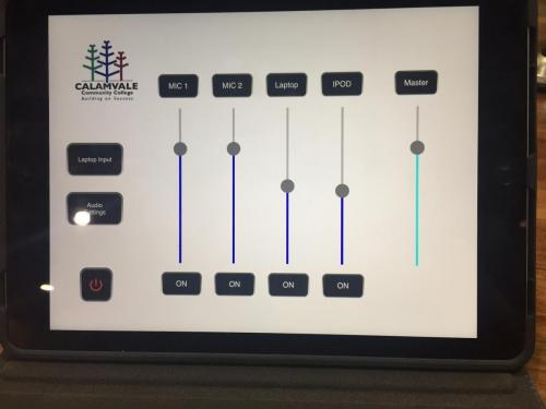 Automation Touch Screen for Simple AV System Operation