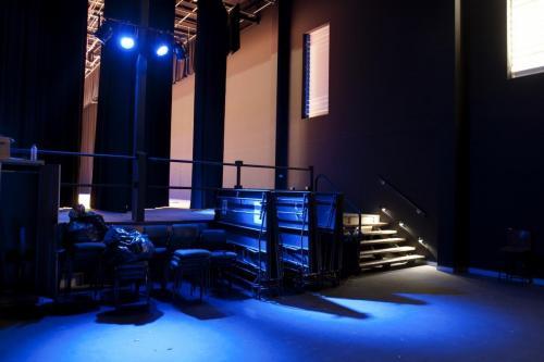 Backstage Blue Lighting (1)