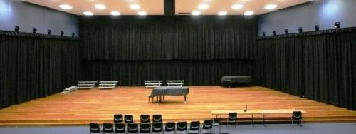 Stage Drapes for Acoustics and Presentation