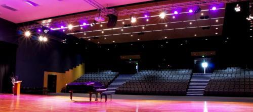 Concert Hall Lighting, Audio & AV Installation