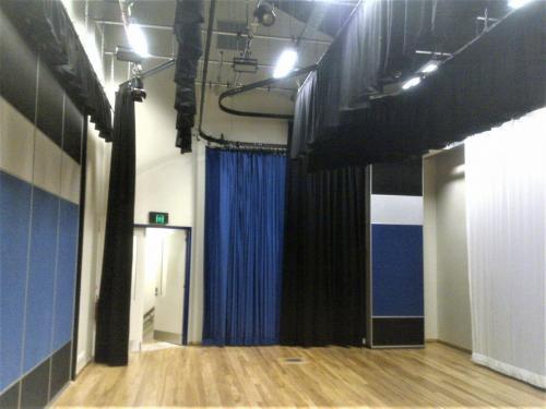 Multi-purpose Stage Custom Curtain Solutions