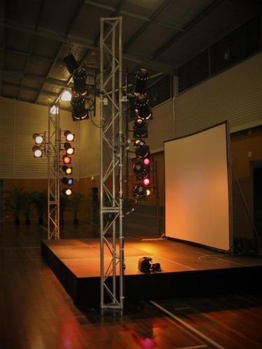 Portable Equipment Hire for Event