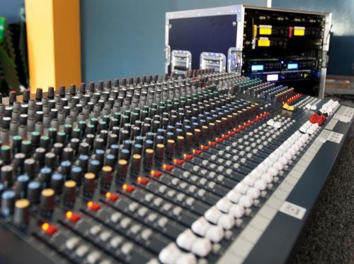 Audio Control Console & Rack