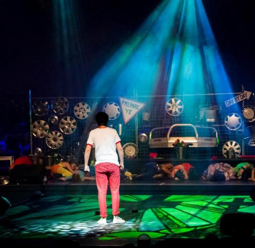 Over - Stage Special Effects Lighting