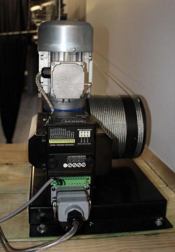 Installed Curtain Motor