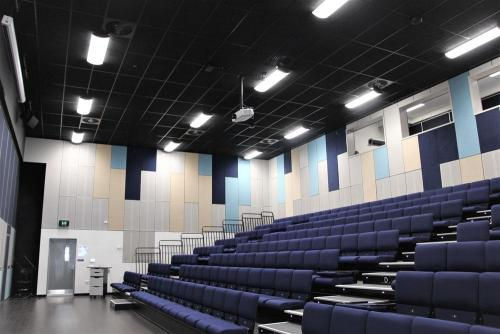 Lecture Theatre with Installed Control System, Audio & Projection