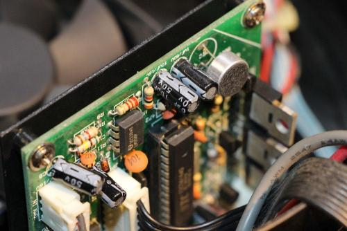 LED Lighting Fixture's Circuit Board - After Servicing