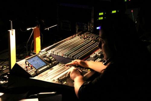 School Musical - PLS Audio Tech at work